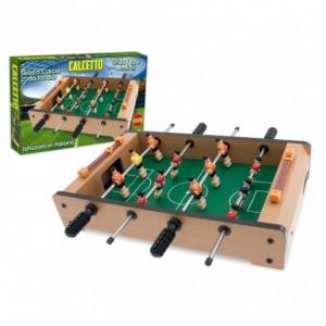 634430 Mini baby-foot de table avec 12 joueurs 4 barres 36 x 22 x 7 cm