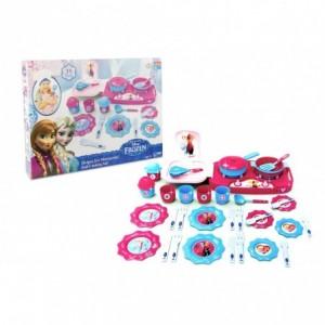 087084 Set de 18 accessoires de cuisine Minnie Disney vaisselle et casseroles