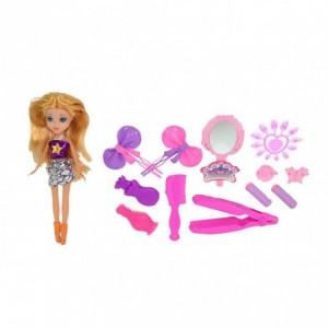 250594 Poupée fashion doll Patty adore la mode avec accessoires