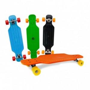 515654 Skate Longboard SKULL ABEC-9 truck en aluminium 115 x 23 cm roues 70 mm