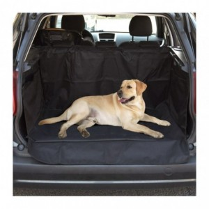 Couverture de coffre de voiture pour chien modifer