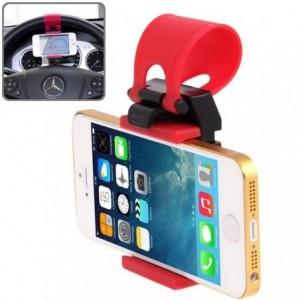 Support pour le volant avec clip élastique pour smartphones et appareil contrôlé