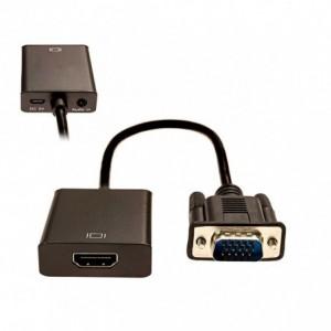 560929 Vidéo adaptateur convertisseur universel de VGA vers HDMI USB audio