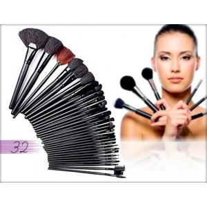 Set de 32 pinceaux de maquillage professionnels