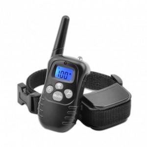 4565 Collier de dressage pour chien à vibrations écran LCD
