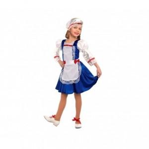 368769 Déguisement de carnaval pour fille BAVAROISE avec bonnet