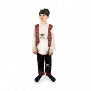 227707 Déguisement de carnaval pour enfant PIRATE avec bandana