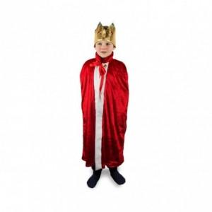 368721 Déguisement de carnaval pour enfant ROI EMPEREUR avec couronne