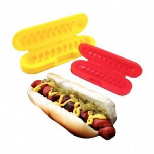322993 Set de 2 coupe hot dog en spirale coupe saucisse wurstel SPIKE DOG