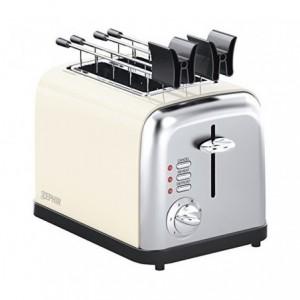TA8360 Grille-pain électrique DCG en acier 2 fentes fonction décongélation