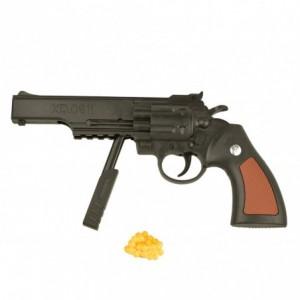 285503 Pistolet jouet en plastique revolver 6 mm avec billes incluses