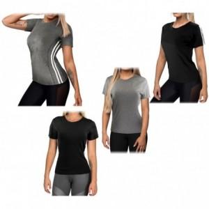 Lot de 4 débardeurs de sport running femme en tissu pour fitness et sport