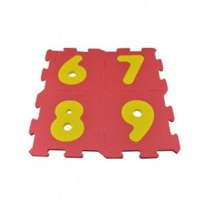 393062 Tapis puzzle en mousse 4 pièces à assembler MULTICOLORE  60 x 60 x 1 cm
