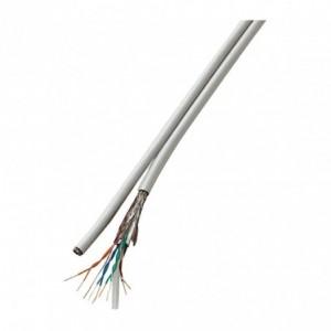 045377 Câble Ethernet 2.0 m LAN CAT6 blindé avec contacts dorés 10Gps