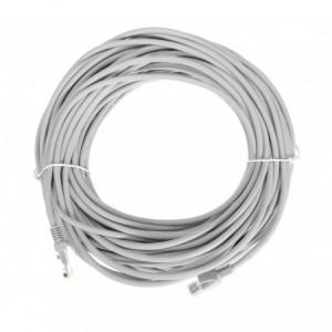 045438 Câble Ethernet 15.0 m LAN CAT6 blindé avec contacts dorés 10Gps