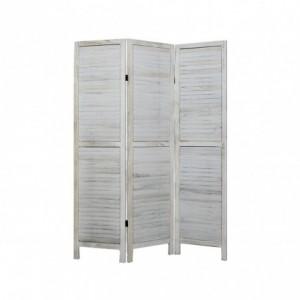 394465 Paravent modèle classique en bois 170 x 40 cm trois panneaux
