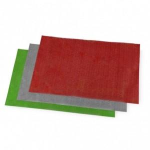 Lot de 3 tapis multiusage antibactérien texture tressé 50 x 30 cm découpable