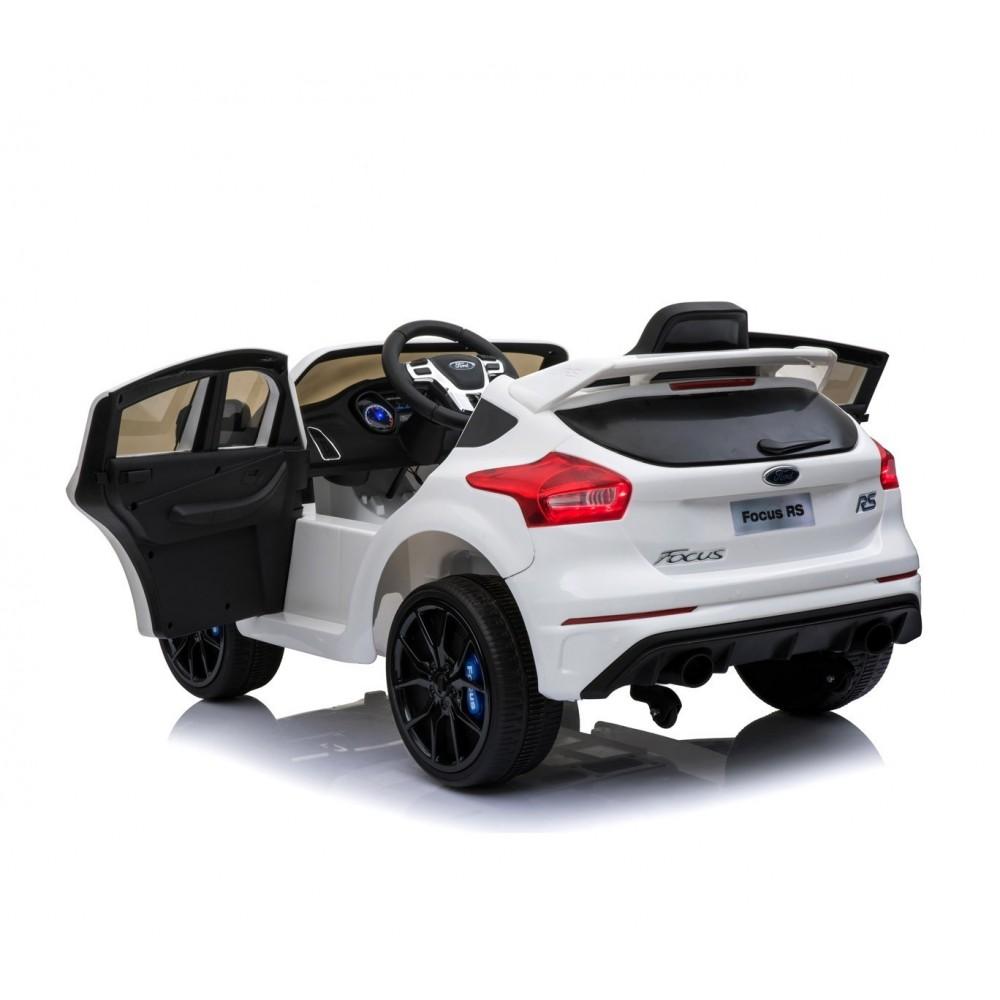 b81324 voiture lectrique enfants suv ford focus rs si ge cuir 12v t l. Black Bedroom Furniture Sets. Home Design Ideas