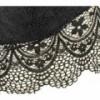 H869 Soutien-gorge à brides femme modèle RIEM base élastiquée bonnet en dentelle