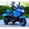 B37500 Moto électrique pour enfant SIDNEY lumières et sons 12V valises latérales