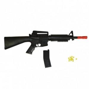 335109 Mitraillette à bille en plastique CIGIOKI M4A1 calibre 6 mm