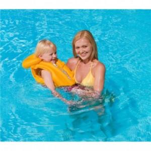 32034 Gilet de natation gonflable pour enfant 51 x 46 cm Swim Safe ABC
