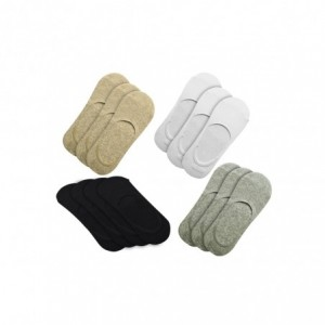 Lot 12 paires de chaussettes homme avec bande de silicone antidérapante MY-800D