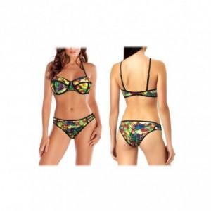 G1662 Maillot de bain bikini rembourrés mod. FRUIT fantaisie de fruits