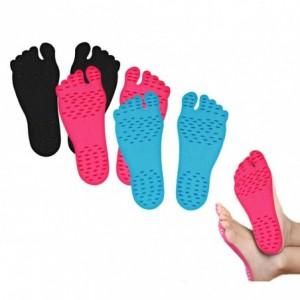 Pack de 6 paires de semelles adhésives ADFoot pour les pieds hygiéniques