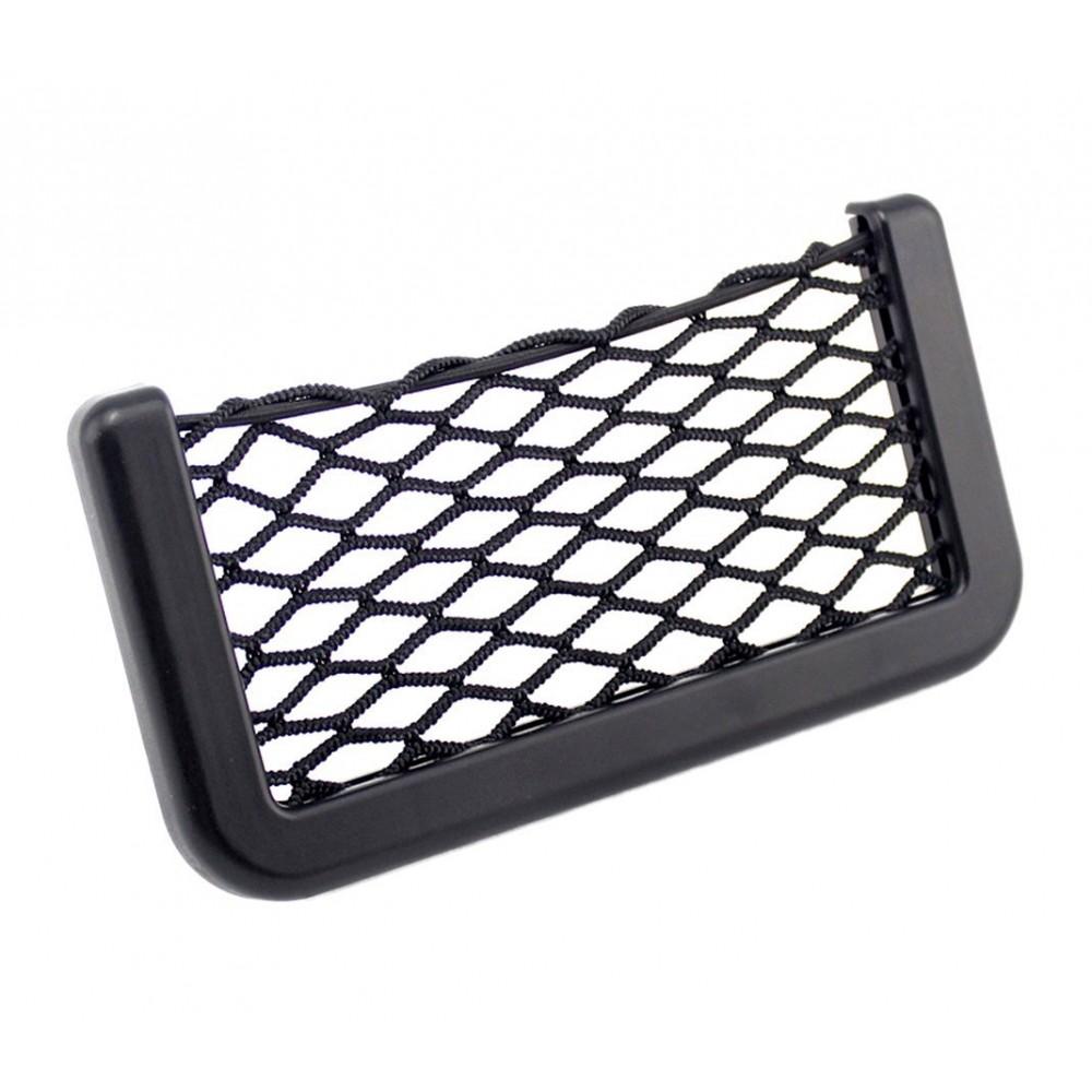poche pour objets id al pour la voiture 178842 storage network 14x8 cm. Black Bedroom Furniture Sets. Home Design Ideas