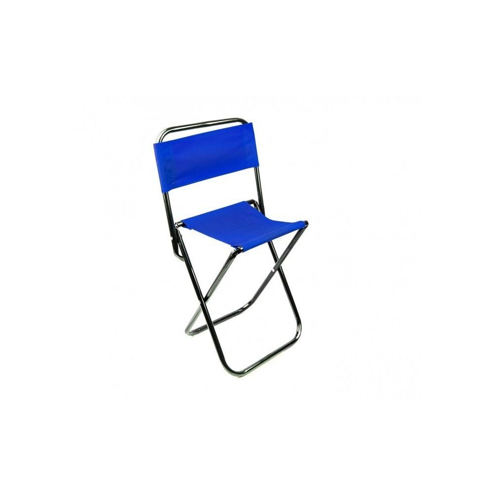 261682 tabouret pliant evertop pour camper ou pour la plage avec dossi. Black Bedroom Furniture Sets. Home Design Ideas