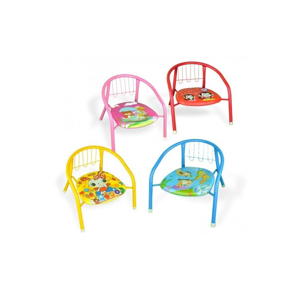155352 chaise enfant diff rente couleur en m tal sifflet 15kg max. Black Bedroom Furniture Sets. Home Design Ideas