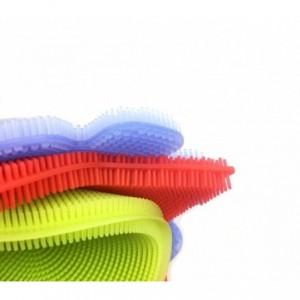 Set de 3 éponges en silicone BEST GRIP SPONGE avec picots, nettoyage en douceur