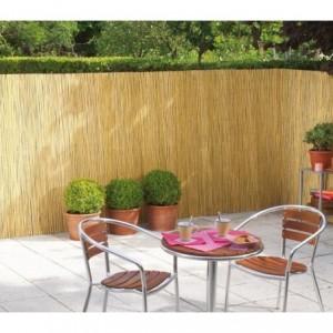 049958 Clôture en bambou pour périmètre 200 x 500 cm