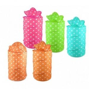 243039 Panier pliant pour jouets ou vêtements 40 x 80 cm en differente couleur