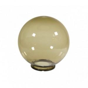 lampes sphère de jardin couleur fumé 25 cm pour extérieur