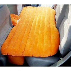 775310 Matelas de voiture gonflable avec pompe intégrée et 2 coussins