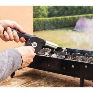 662423 ventilateur soufflet manuel ravive les braises des barbecues et cheminées