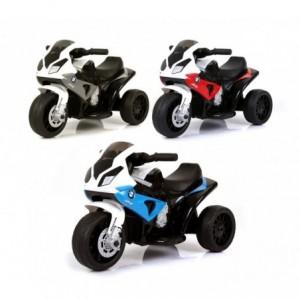 LT883 Moto électrique pour enfants BMW LED 6V MP3 de 3 à 8 ans
