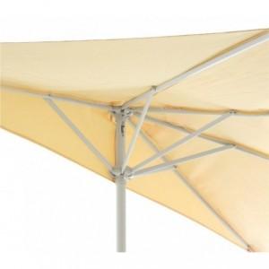 331774 Parasol de jardin semi-circulaire ONSHORE 160X100 cm