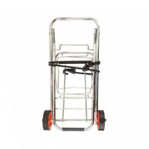 444005 Chariot pliant pour valise EVERTOP 86x43x35 charge max 30Kg
