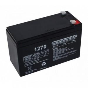batterie en plomb-acide 7Ah pour voitures électriques et scooter 12N7AH 12v