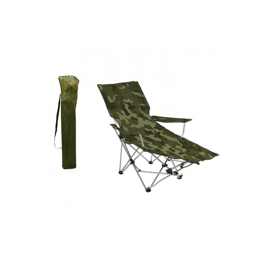 Repose 391808 Avec Camping Pied Chaise Plage Camouflage Modèle Pliante 7bvYygf6