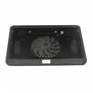 SUPPORT NOTEBOOK 15 POUCES GEMBIRD NBS-1F15-01 VENTILATEUR REFROIDISSANT
