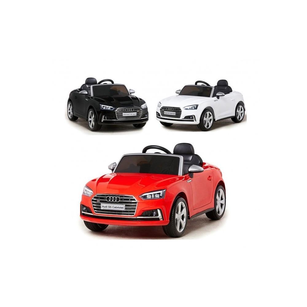 b81700 voiture l ctrique pour enfant audi s5 t l guid e 12v cabriole. Black Bedroom Furniture Sets. Home Design Ideas