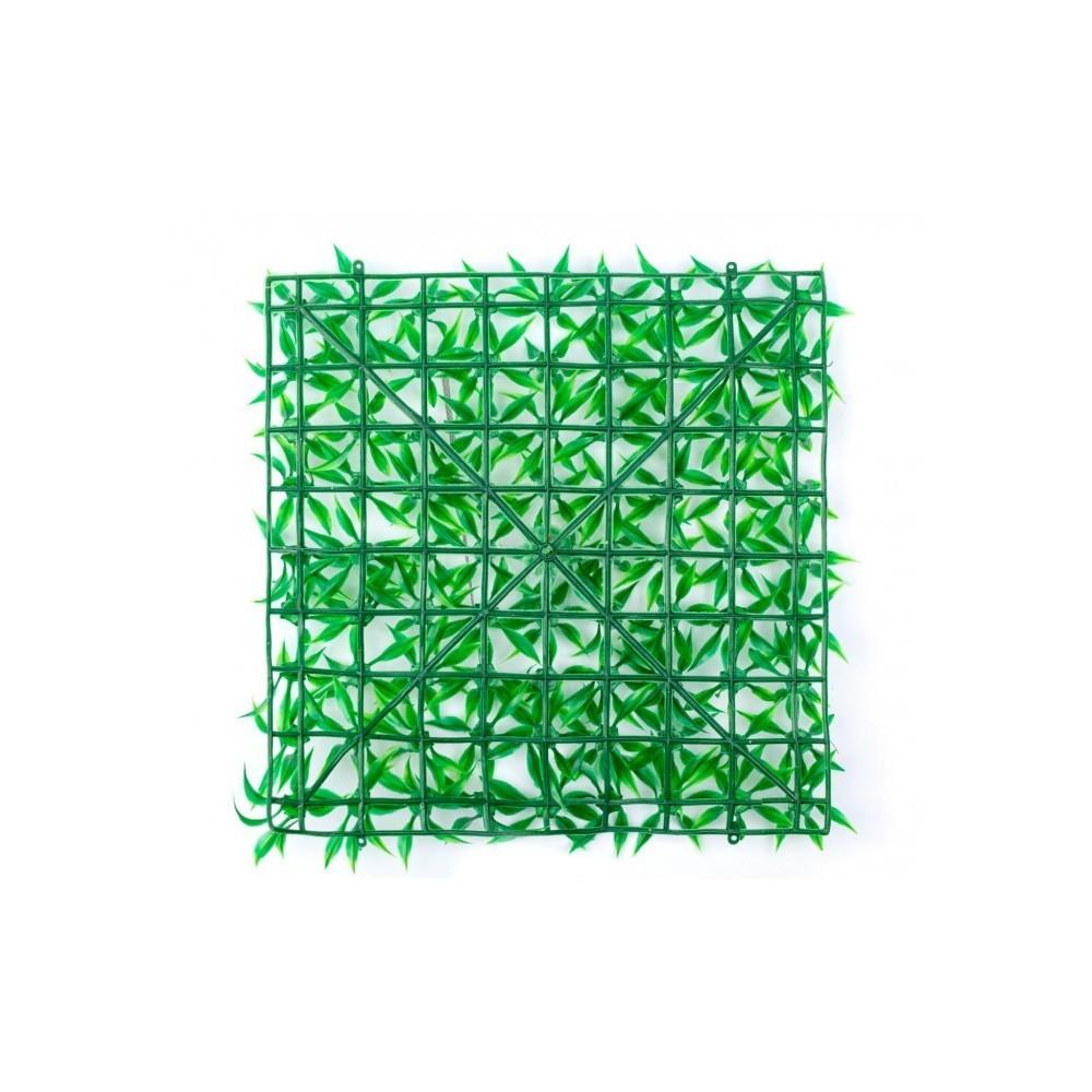 036392 Parcelle de gazon synthétique réaliste pour jardin 25x25 cm