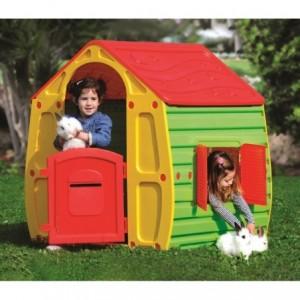 264478 Maisonnette en plastique pour enfants MagicHouse 102x90x109cm