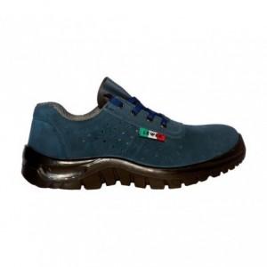 Chaussure de sécurité unisex anti-dérapante LEWER SCAMOSCIATE 3101B S1P CLASSIC