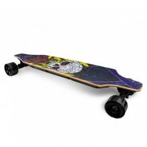 BSCI SLAV 90 cm skateboard électrique avec télécommande sans-fil 15km/h SKULL
