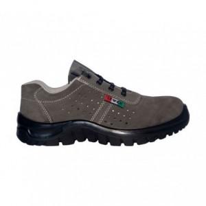 Chaussure de sécurité unisex anti-dérapante LEWER SCAMOSCIATE 3101 S1P CLASSIC